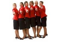 ADGM Hostesses, gastdames