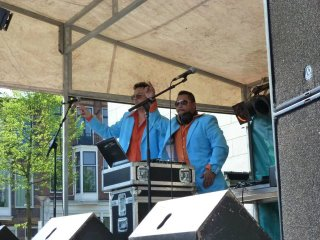 DJ Black & Lecker Drive-in show Groningen