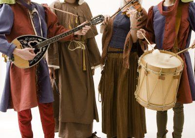 De Tempeliers, middeleeuwse muziek